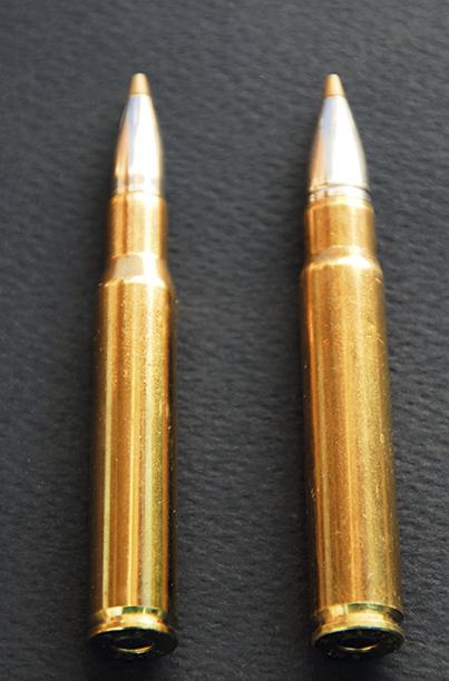 Emergence des munitions légères