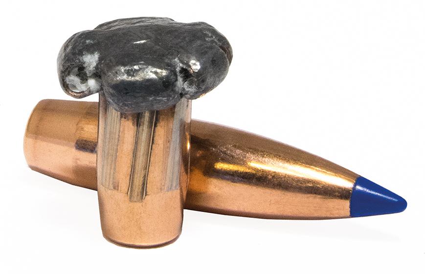 Les balles à noyau soudé au blindage